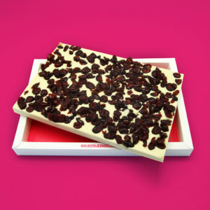 Chocotablet Cranberry Wit
