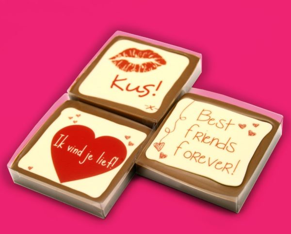 Chocolade Tablets Love